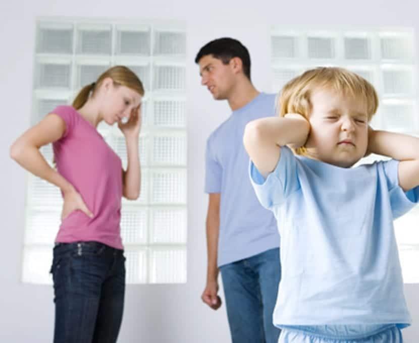 Separación de los padres