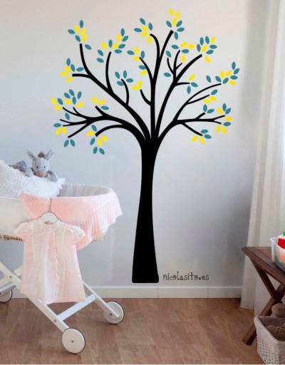 Vinilos decorativos de árboles