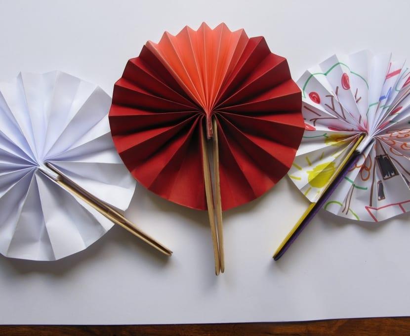 abanico de papel