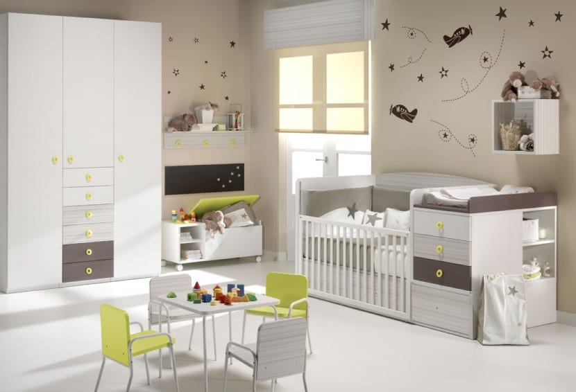 Muebles para bebés