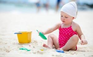 Proteger a los niños del cáncer del piel