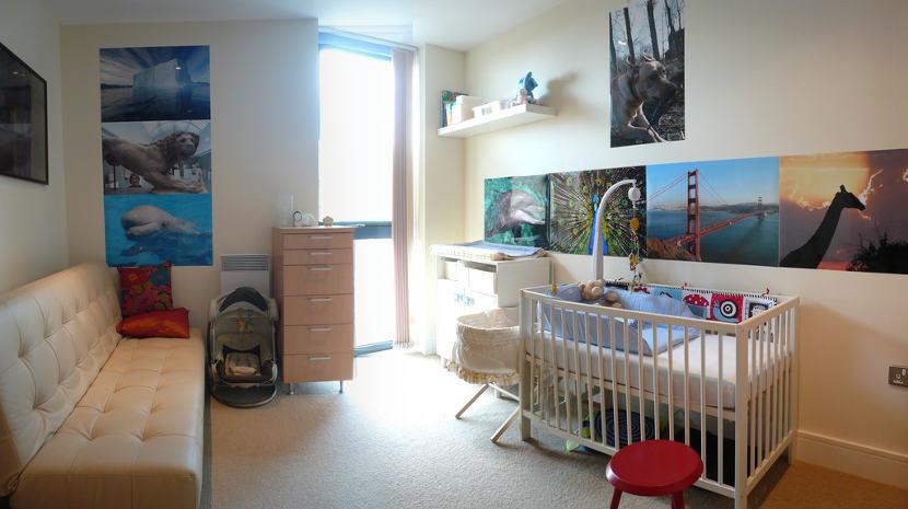 Decoración de la habitación del bebé: Errores potencialmente peligrosos