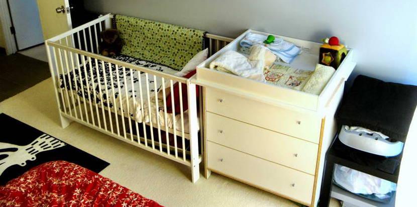 Ideas para ahorrar dinero en el cuarto del bebé