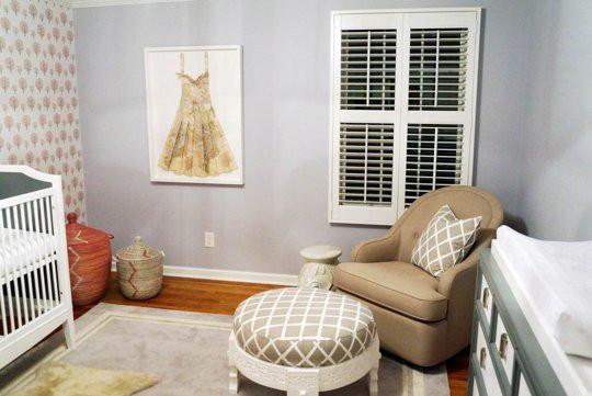 Inspiración para la decoración y el diseño de la habitación del bebé
