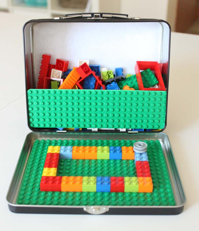 LEGO para llevar y jugar en el coche - Kit DIY