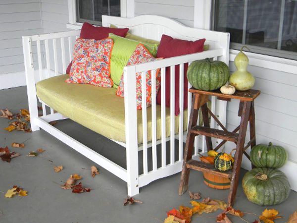Reciclar cuna - sofá