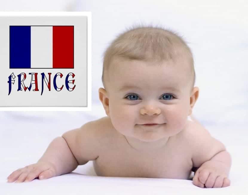 Nombres franceses de bebés