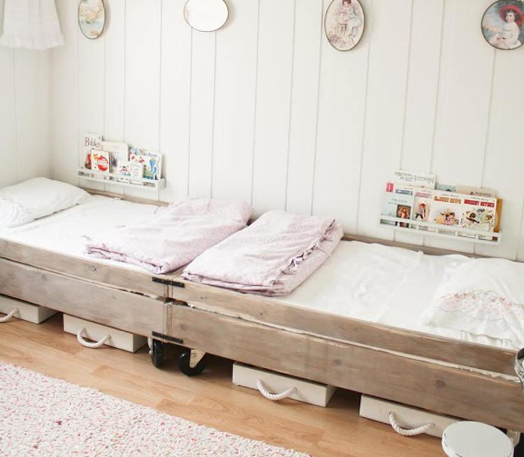 Ideas para organizar habitaciones infantiles