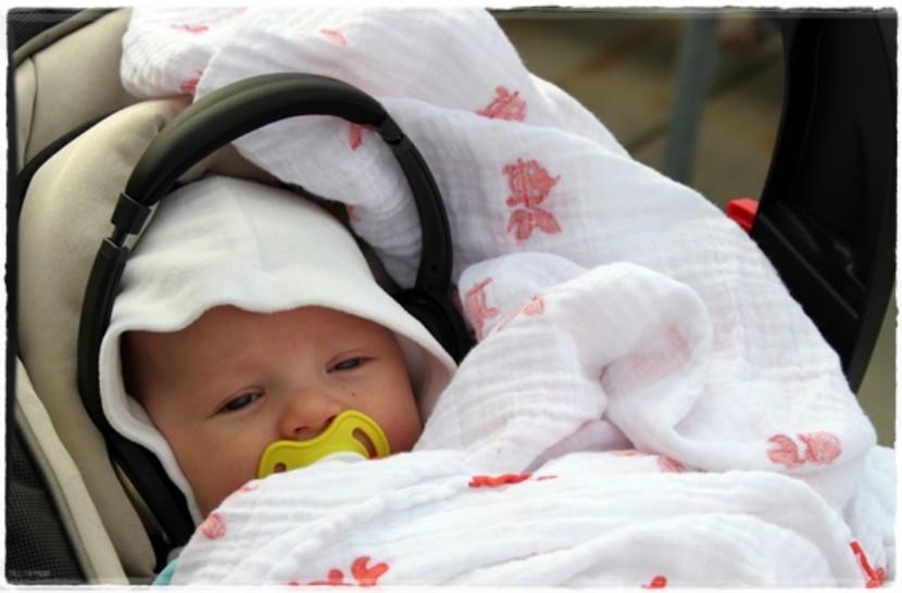 Salir con el recién nacido