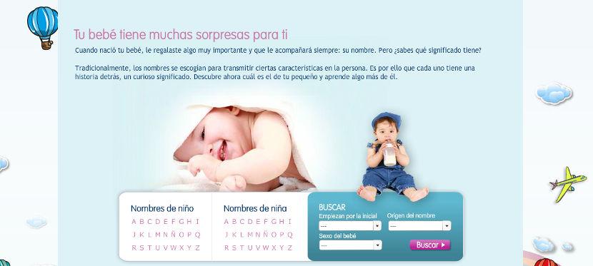 Encuentra el nombre perfecto para tu bebé con El Buscanombres de Sanutri