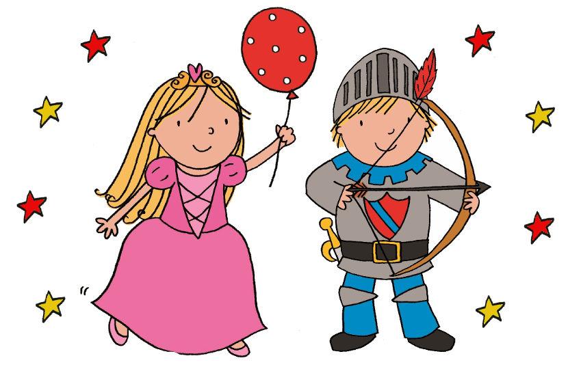 Ideas para organizar una fiesta infantil de caballeros y princesas