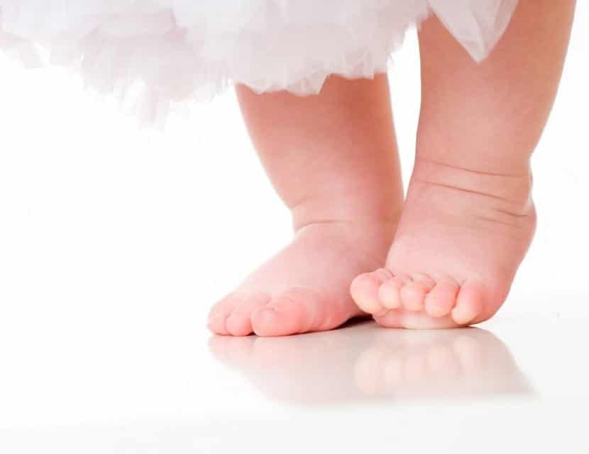Aprendizaje andar bebés