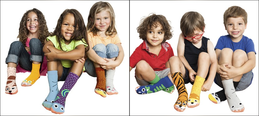 Calcetines estampados niños