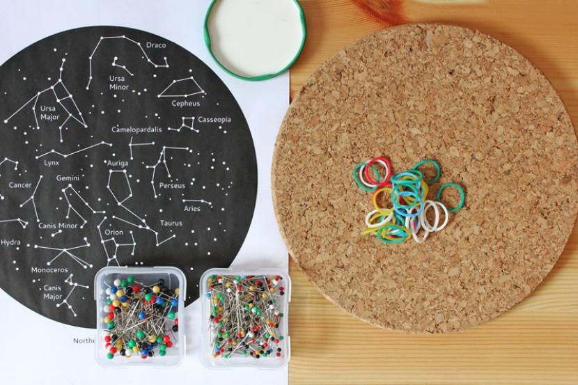 Mapa de las constelaciones