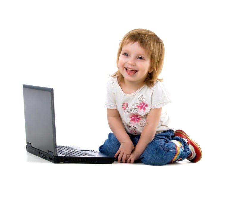 Redes sociales en niños