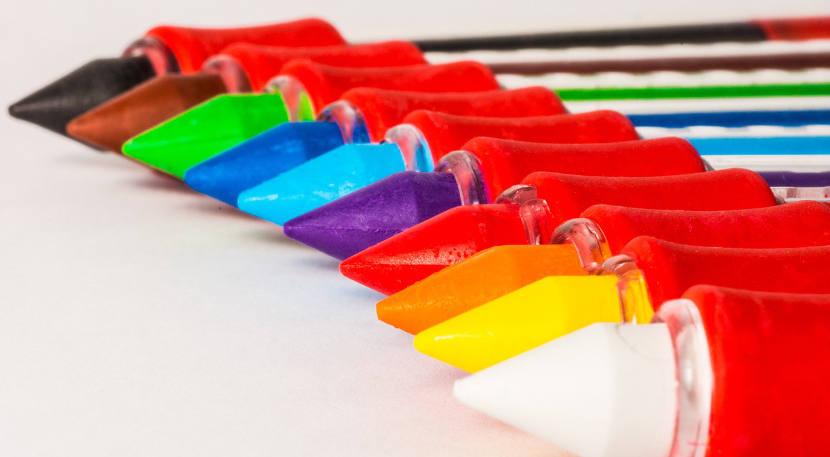 6 ideas para enseñar los colores a los niño
