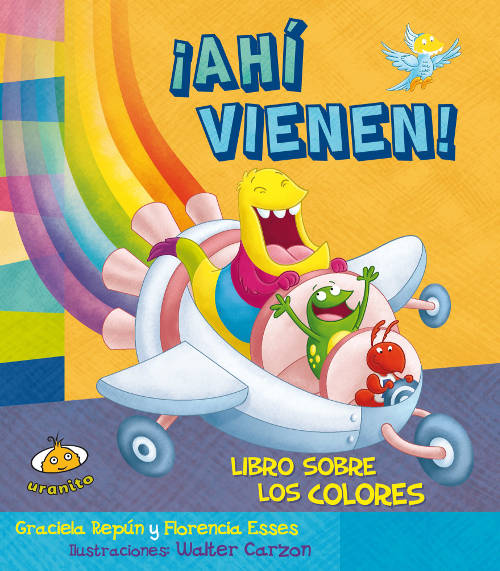 Algunos libros para que los bebés puedan aprender los colores (y jugar con ellos) - Ahi vienen