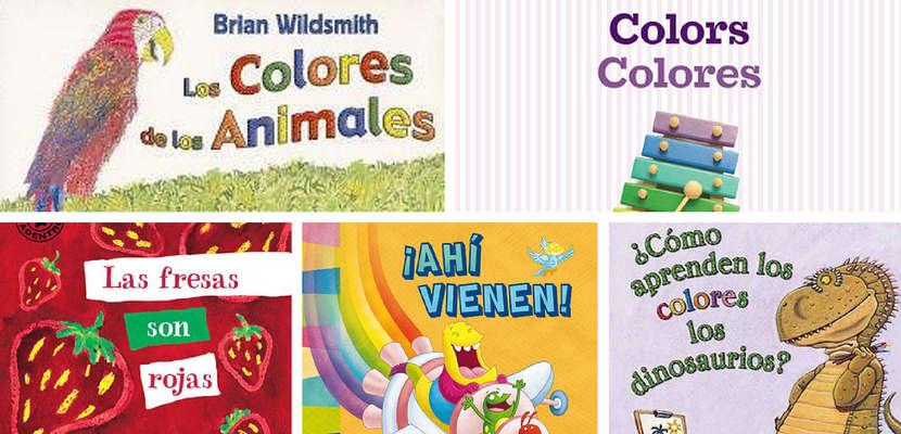 Algunos libros para que los bebés puedan aprender los colores (y jugar con ellos)