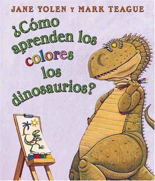 Algunos libros para que los bebés puedan jugar con los colores - Cómo aprender los colores los dinosaurios