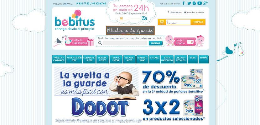 Bebitus inaugura el nuevo curso con estupendas ofertas en su tienda online