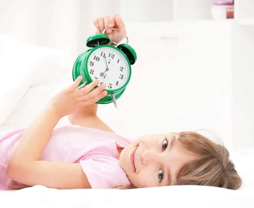 El descanso en los niños