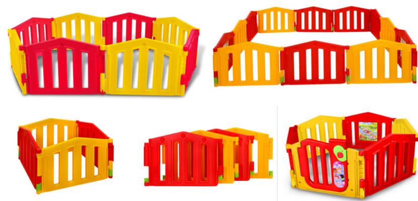 Parques infantiles extragrandes de LCP Kids