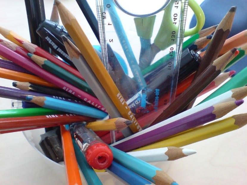 Cuidar el material escolar