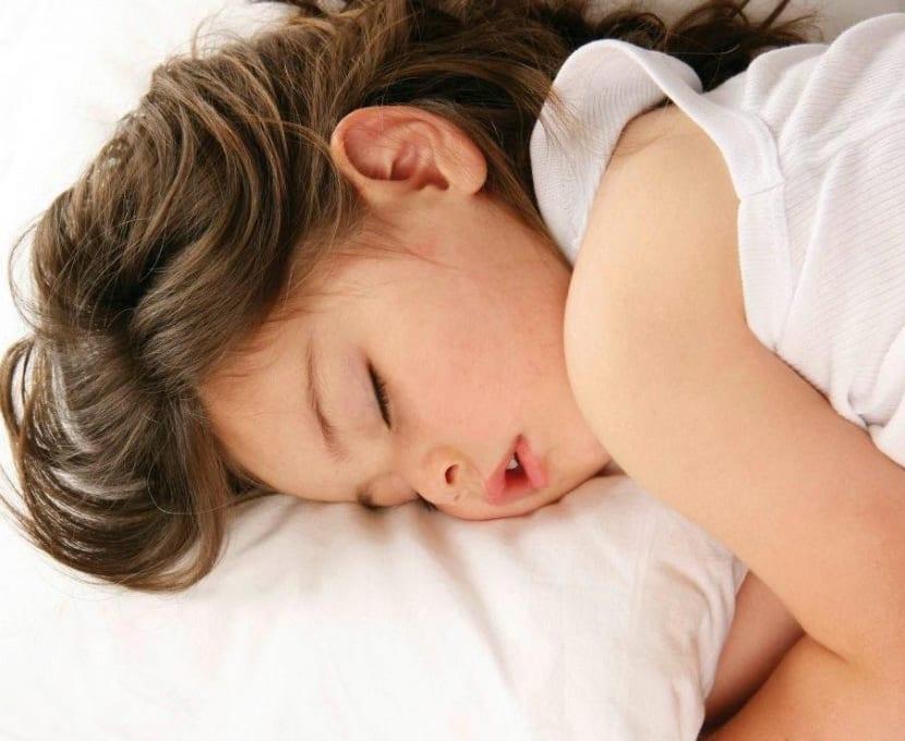 descanso en los niños