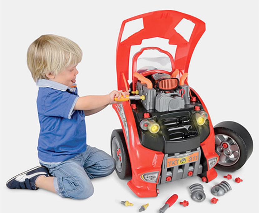 Motor para reparar por niños