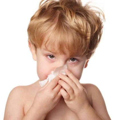 Resfriados leves en bebés