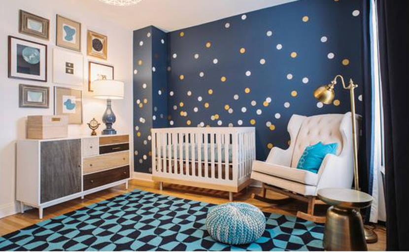 Cómo decorar una habitación de bebé con estilo moderno