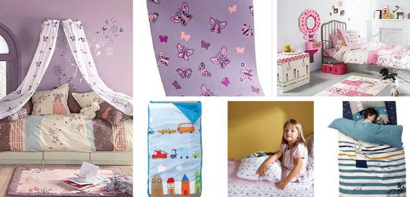 Decoración infantil en el catálogo de Vertbaudet otoño-invierno 2014-15