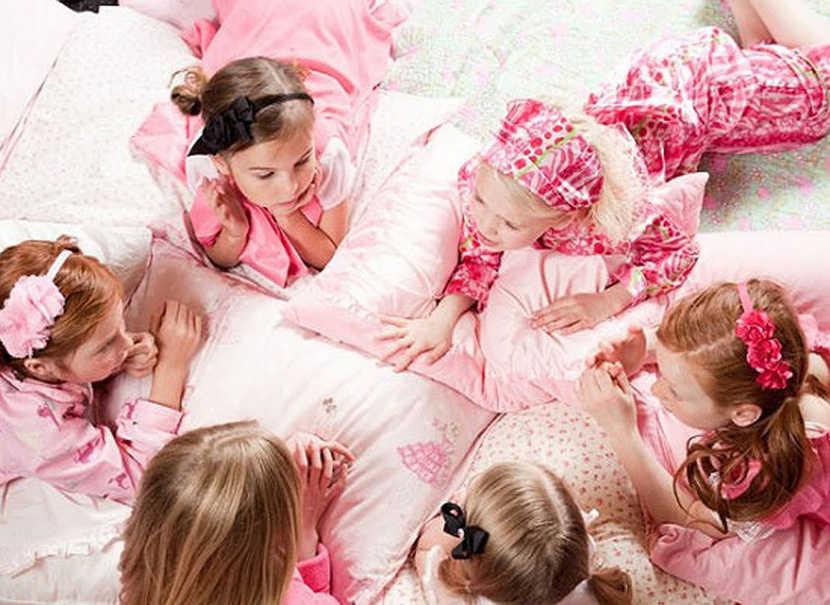 Fiesta de pijamas, un divertida forma de celebrar el cumpleaños