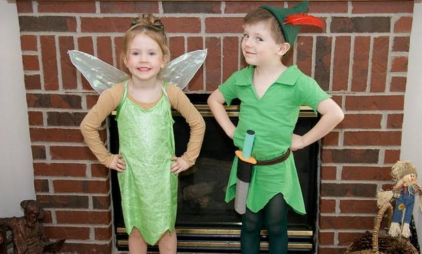 Disfraces para mellizos en halloween