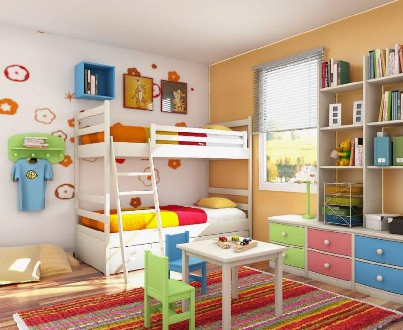 habitación ordenada