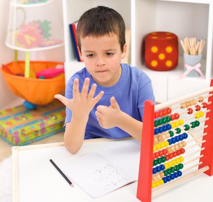 Las matemáticas en los más pequeños
