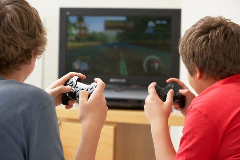 Videojuegos en los niños