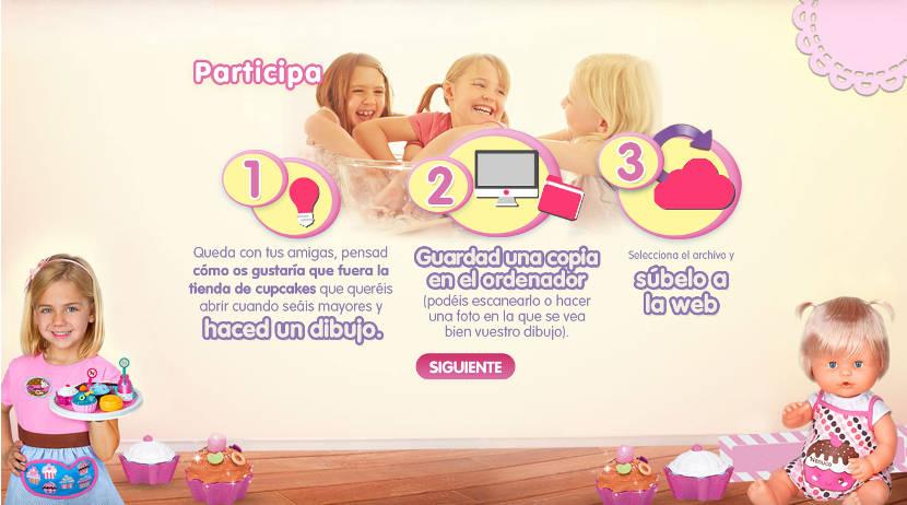 Concurso Tienda Cupcakes de Nenuco - Cómo participar