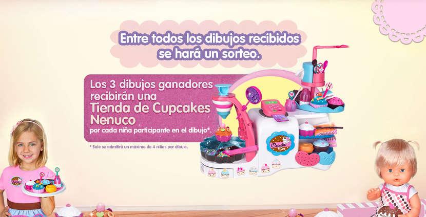 Concurso Tienda Cupcakes de Nenuco - Premios