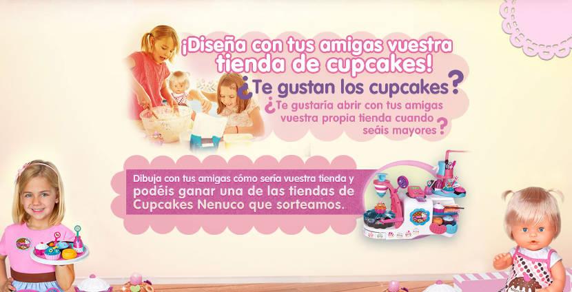 Dibuja y gana con Nenuco y su concurso 'Tienda de Cupcakes'