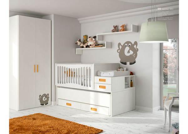 Ideas de decoración para habitaciones infantiles convertibles 05
