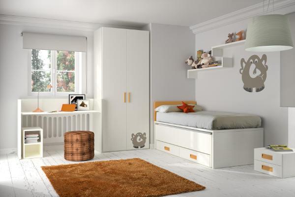 Ideas de decoración para habitaciones infantiles convertibles