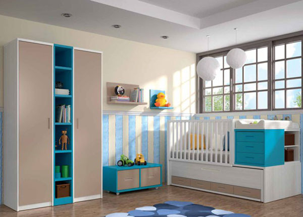 Ideas de decoración para habitaciones infantiles convertibles económicas
