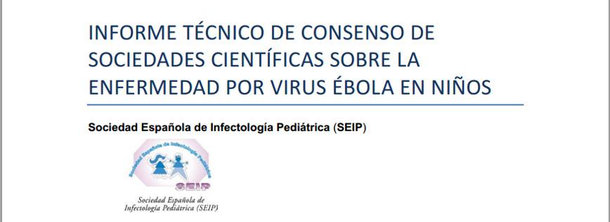 Informe técnico sobre la enfermedad por virus Ébola en niños de la AEPD