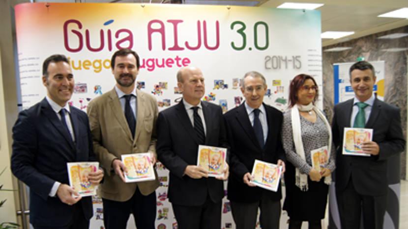 Presentada la Guía del Juego y el Juguete 2014-15 de AIJU