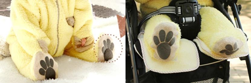Abrigo de osos babywear