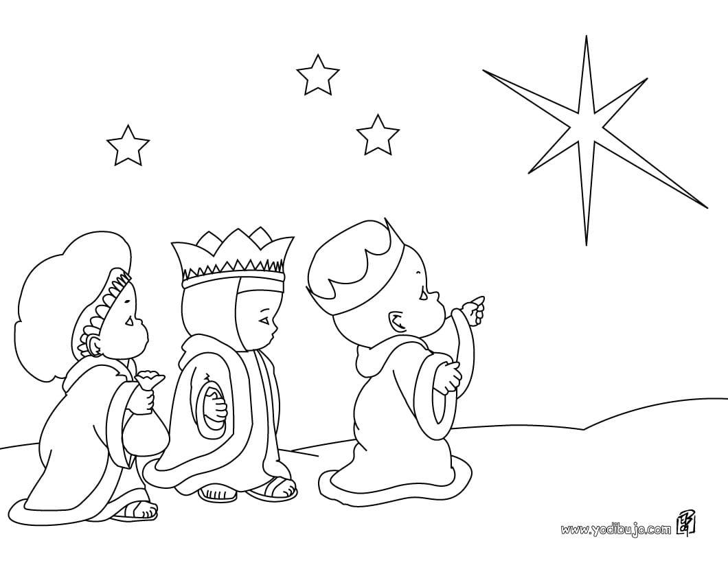 La Navidad Para Colorear. Con Estas Fichas Para Colorear Los Nios ...