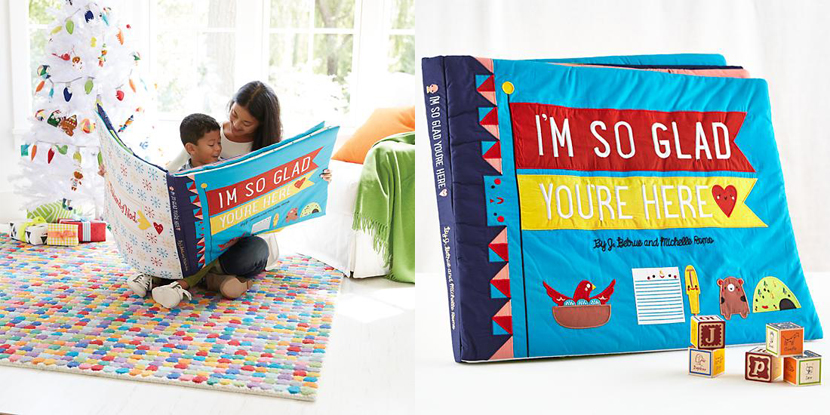 Libro gigante de tela para niños