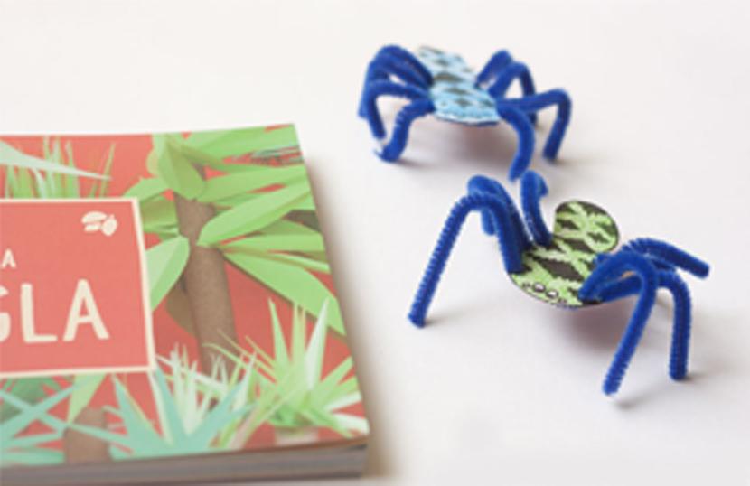 Libro manualidades crea tu propia jungla