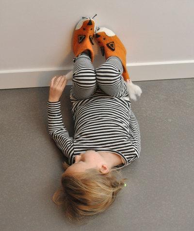 Zapatillas de zorro para niños